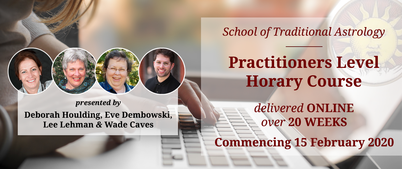 STA Practitioners Level Horary Course: Online